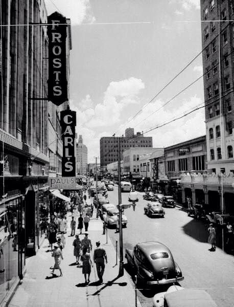 1940 S Houston St View Looking East Frost S And Carl S