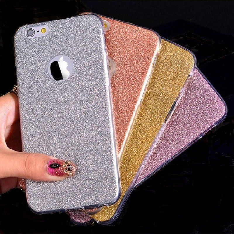 Ultra Thin Glitter Bling Cute Candy Cover For iPhone 6 Case Crystal Soft Gel  TPU Phone Cases For iPhone6 6S 6 Plus 6SPlus Case a490e8c29