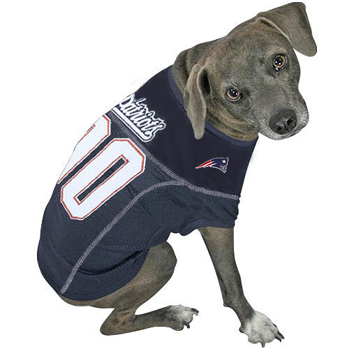 huge selection of d605c 8e4a1 New England Patriots Dog Jersey - Navy Blue | Cool Patriots ...