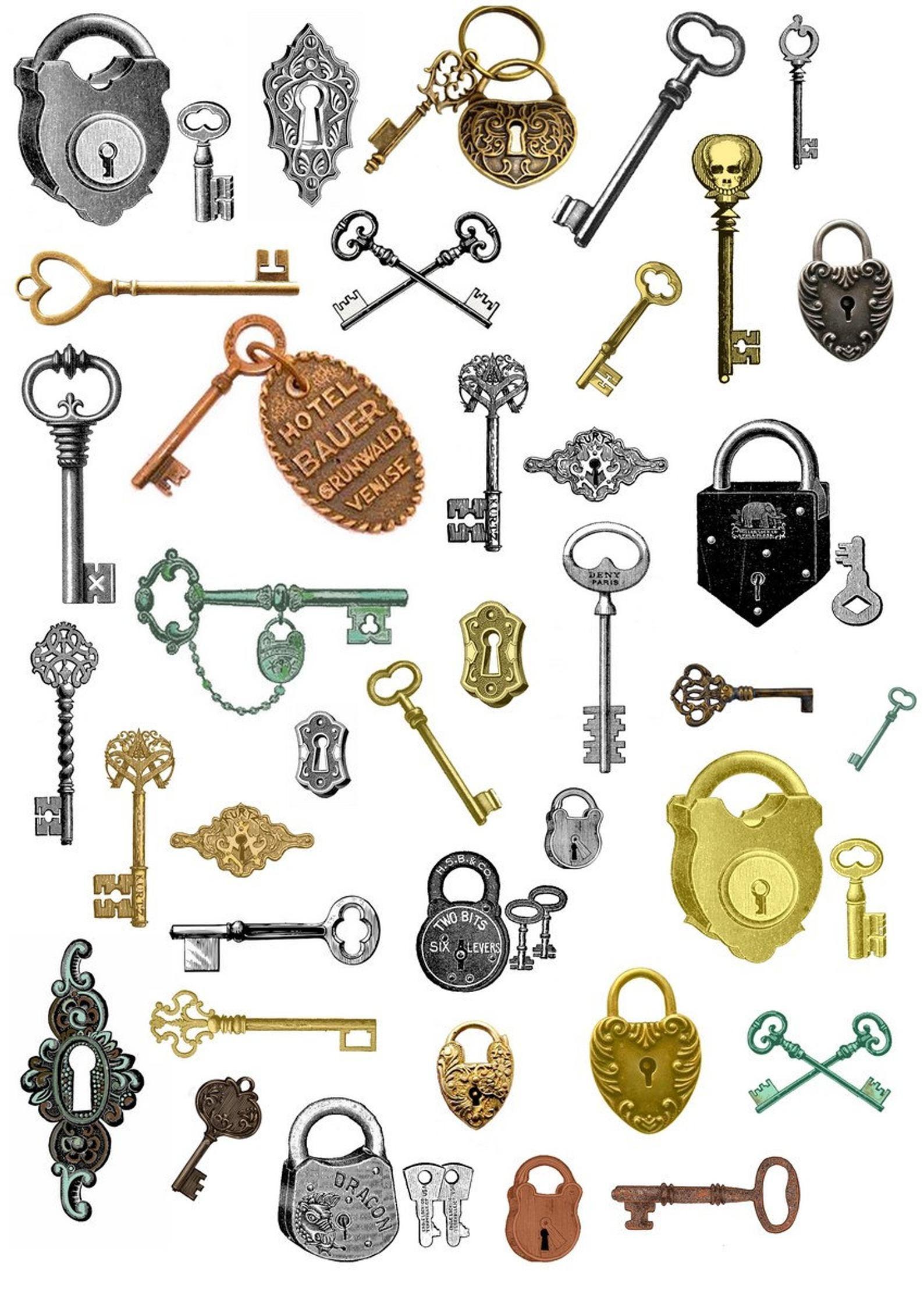 Golden Key Png 320 274 Aksesoris