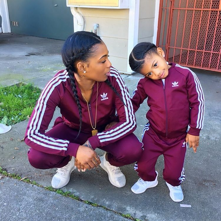 Adidas Baby-Girls Mini Me Set