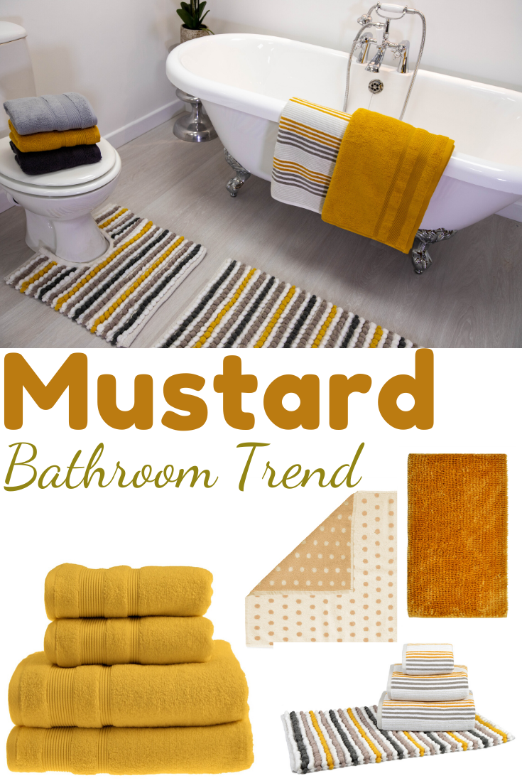 Capri Bath Mat Yellow Bathrooms Yellow Bathroom Decor Bathroom Trends
