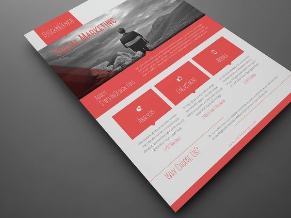 FREE Corporate Flyer Template Membership Graphic Design - Free benefit flyer templates
