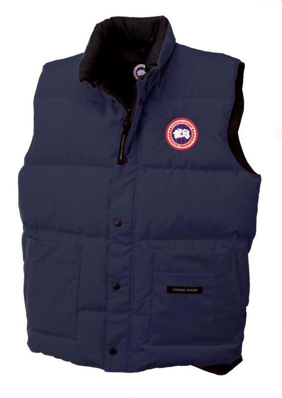 Canada Goose Freestyle Vest Dark Blue Men CAD154.98 http://www.