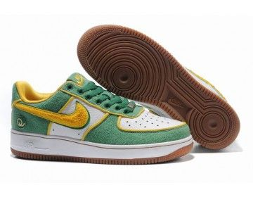 a9d3aff0efb9 ... usa nike store. nike air force 1 low mens supreme queens shoes green  yellow white