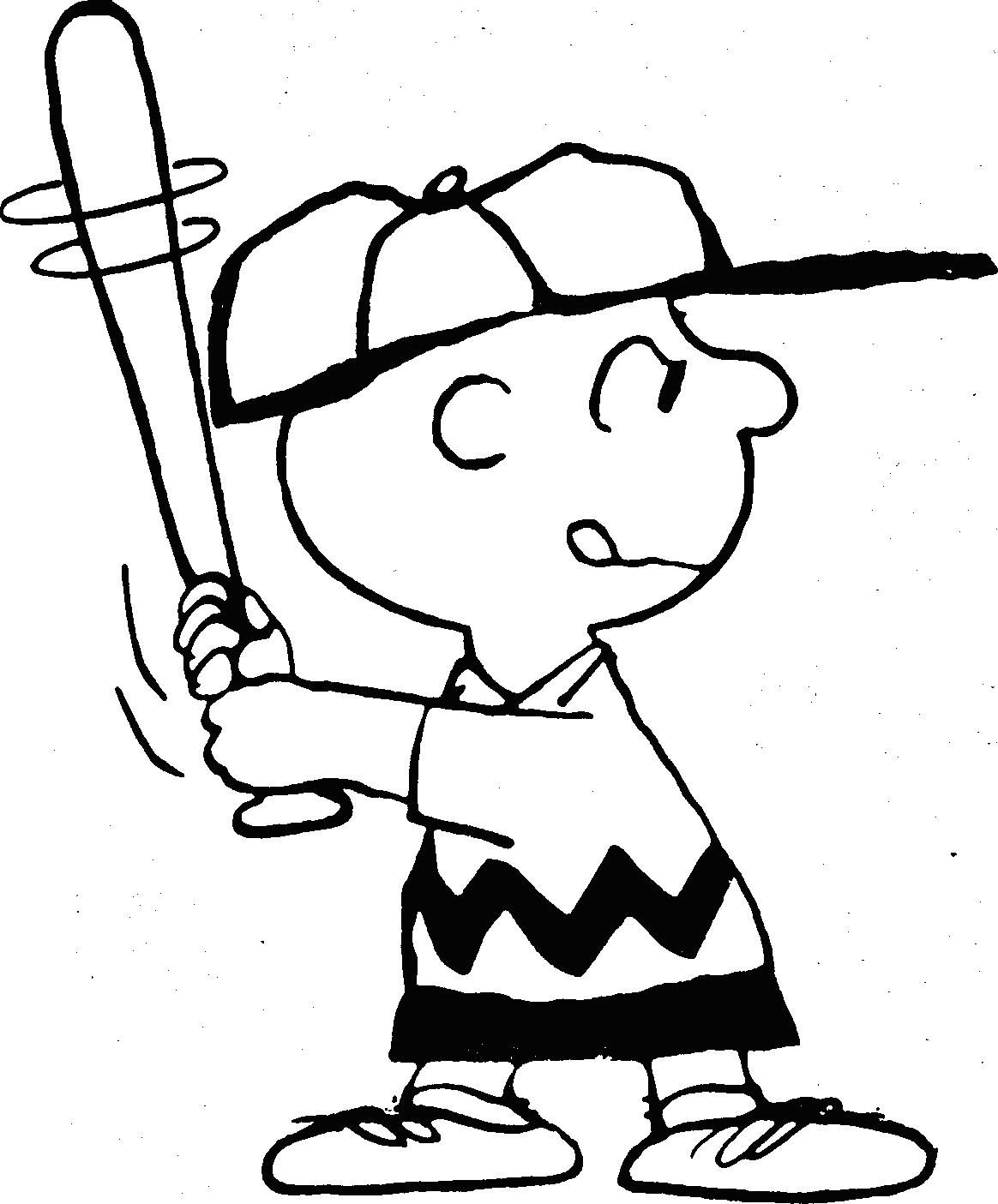 Snoopy Charlie Brown Coloring Pages
