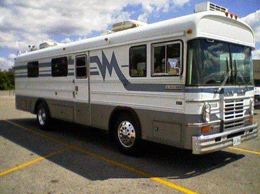 Used RVs Bluebird Wanderlodge Party Bus | MOBILE CATERING