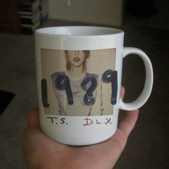 Taylor Swift  1989 album cover print  mug by rebecamug on Etsy