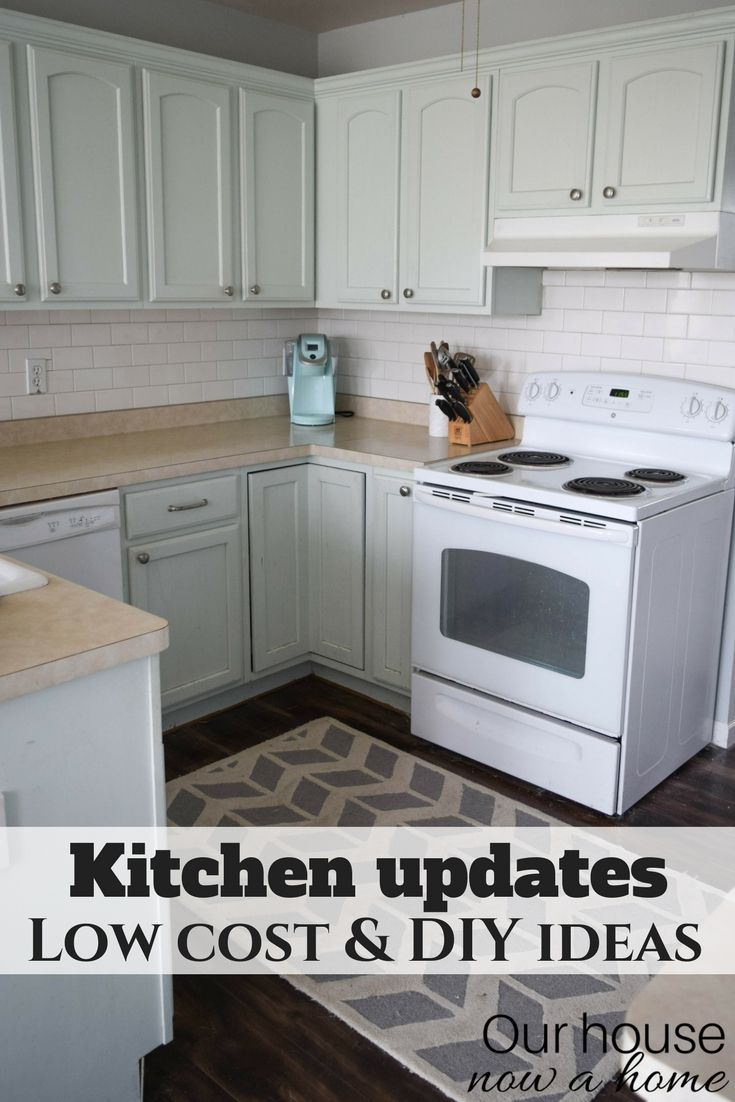 low cost kitchen updates and solutions for a small kitchen diy rh pinterest com