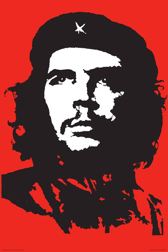 "Viva Che 1968 Poster Print 36x24"". Pop Art, Vintage Art, Retro Art, Fine  Art Print, Che Guevara, Che Guevara Poster, Poster Art, Icon.   Impresión  de póster, Che guevara, Ejemplos de propaganda"