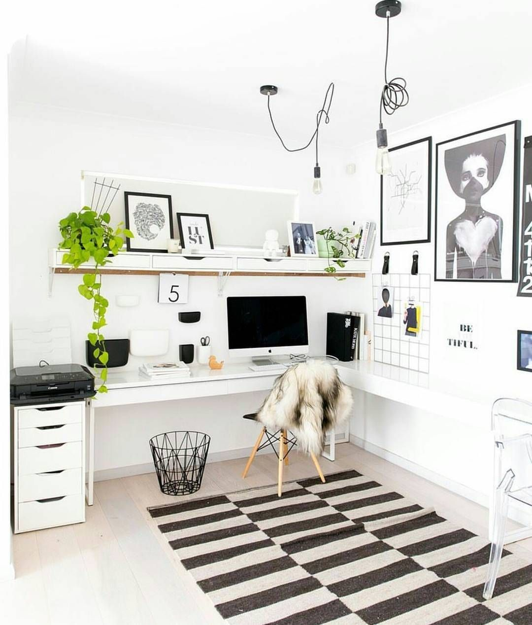 Wohnzimmer Arbeitszimmer Ideen Home Office Filled With Ikea Furniture Hayleygemma Home