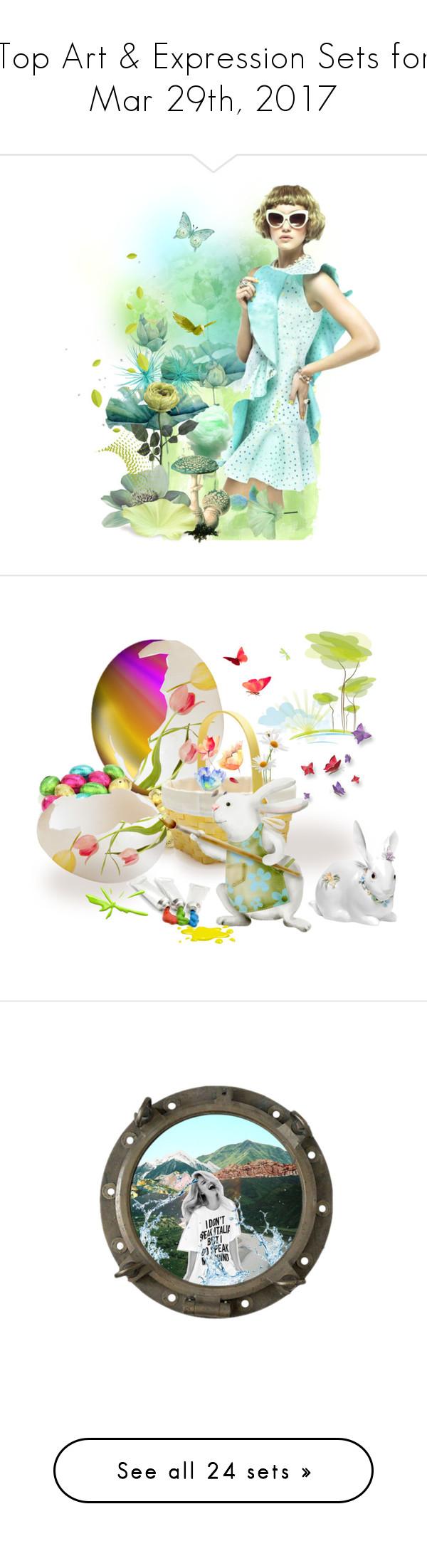 """Top Art & Expression Sets for Mar 29th, 2017"" by polyvore ❤ liked on Polyvore featuring art, polyvorecommunity, polyvoreeditorial, Easter, artset, egg, mennasartsets, noors4khunt, Rosalind and artflashmob"