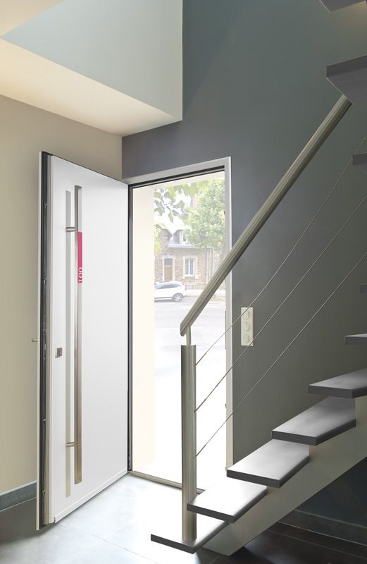 Porte DEntre Aluminium Zilten Image Personnalisable Avec Numro