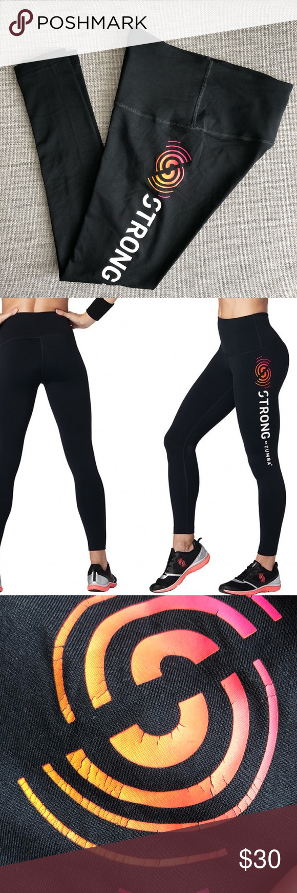 Zumba Fitnes Strong By Zumba High Waisted Leggings Zumba Fitness Strong By Zumba High Waisted Leggings Onl High Waisted Leggings Clothes Design Fashion Design