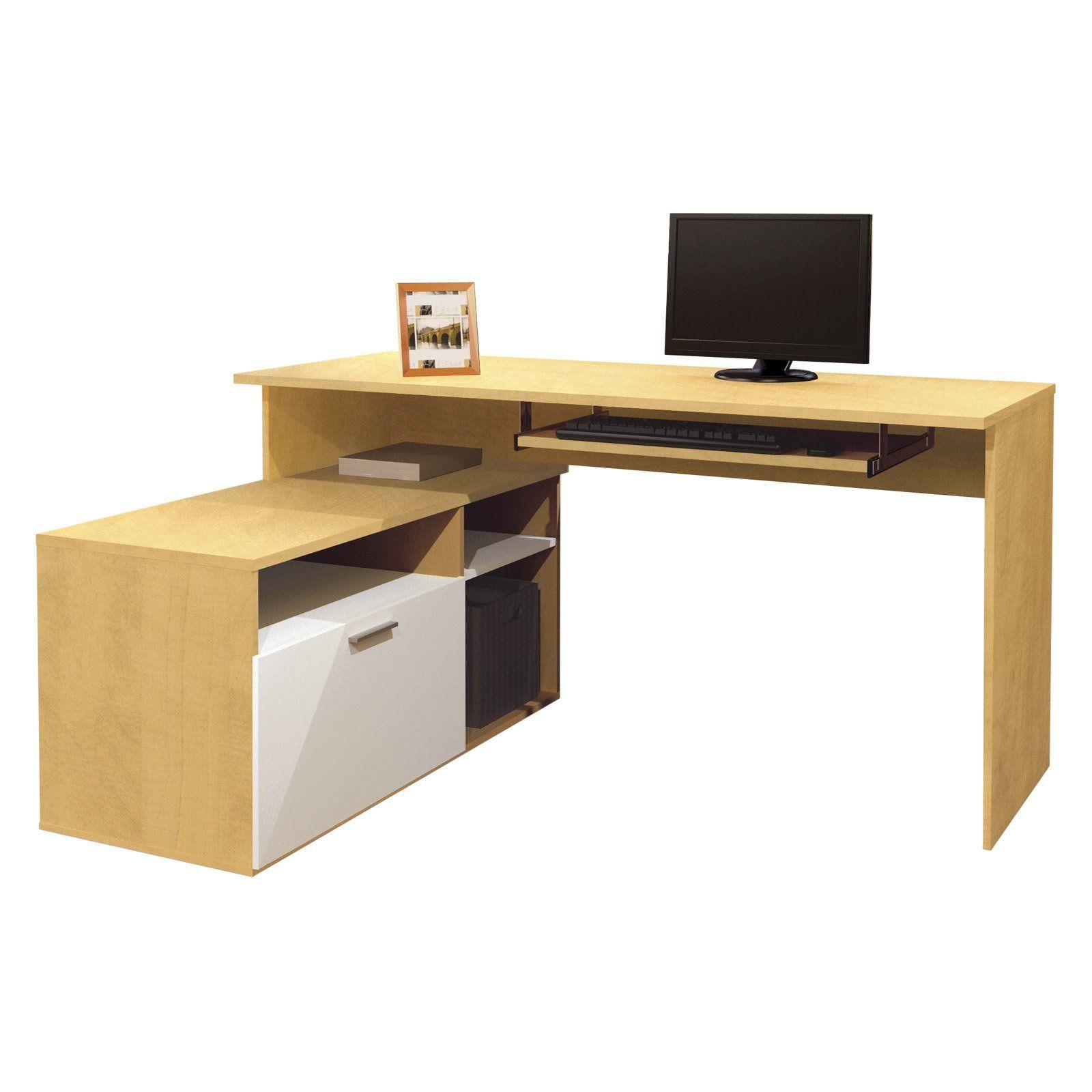 Bestar Modula L Shaped Workstation 335 99 Home Office Furniture Small Office Furniture Office Furniture Sale Small computer desks for sale