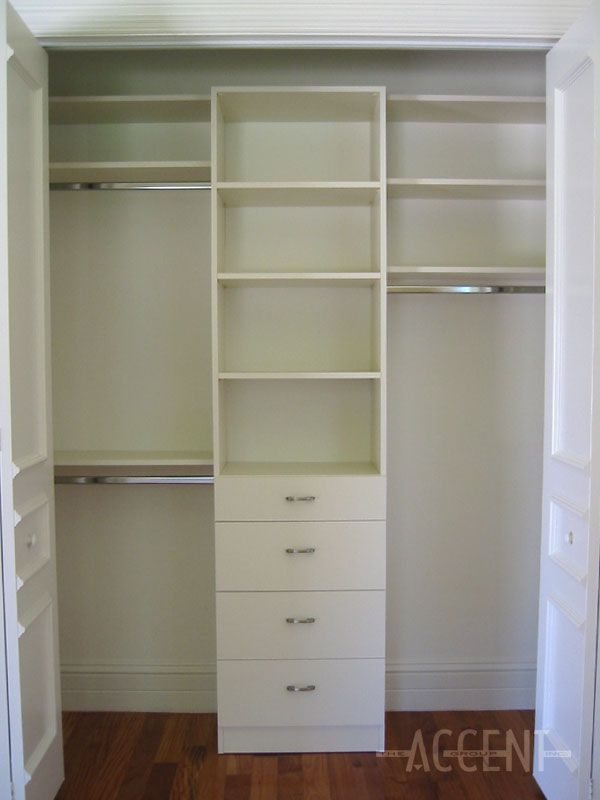 Closet Organizers With Drawers   Google Search
