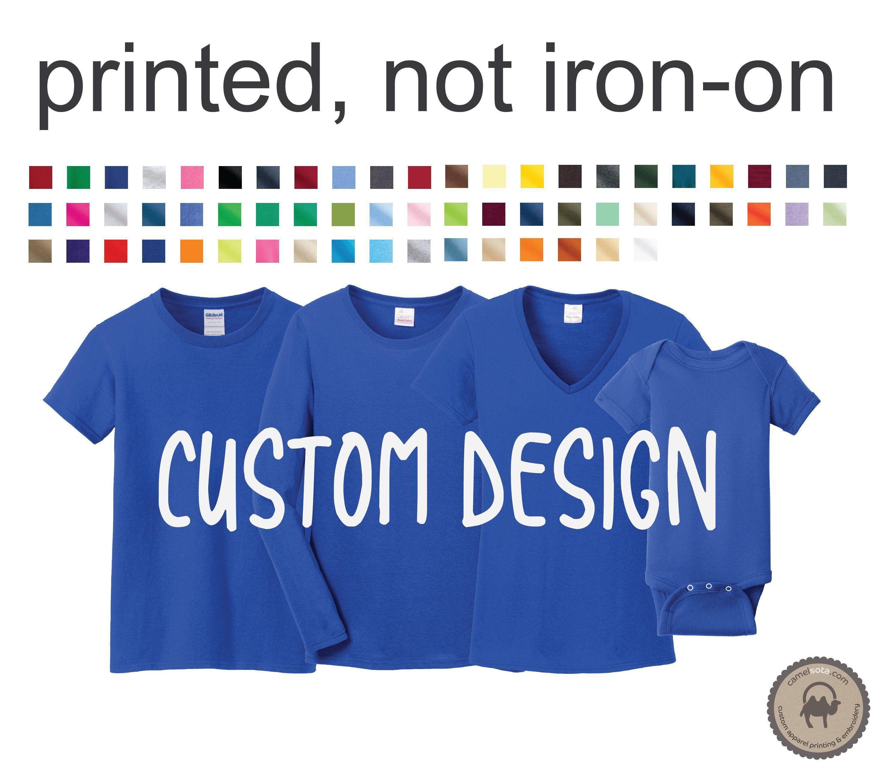 f7f3b1ba2 District Perfect Weight Shirts, Custom Printed Shirts, Family Reunion Shirts,  Group Matching Shirts, Family Matching Shirts, Family Shirts