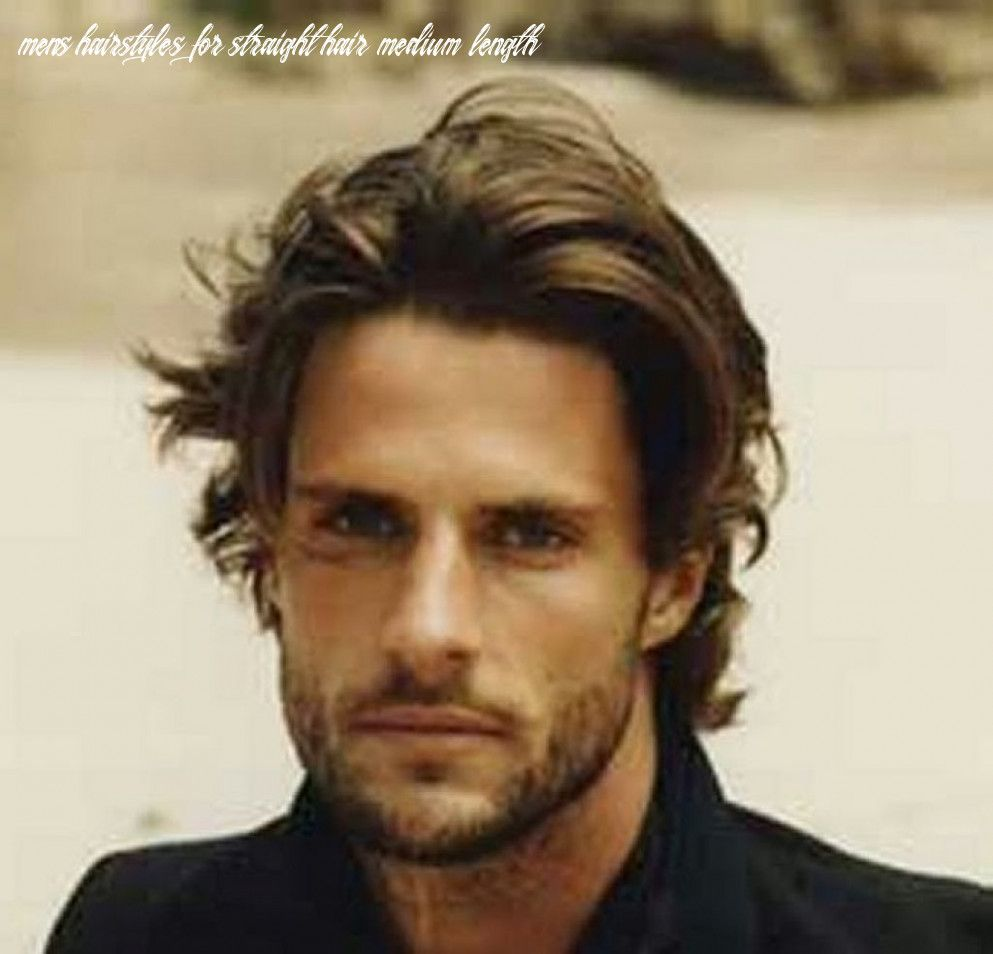 9 Mens Hairstyles For Straight Hair Medium Length In 2020 Mens Hairstyles Medium Mens Medium Length Hairstyles Mens Haircuts Medium