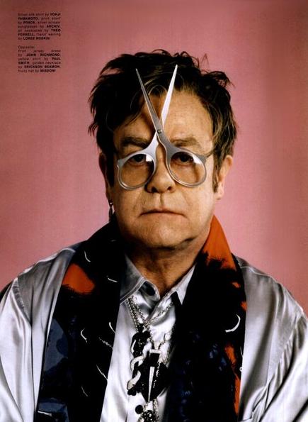 Cut your view ... (Ein)blicke teilen - Elton John? Die ...