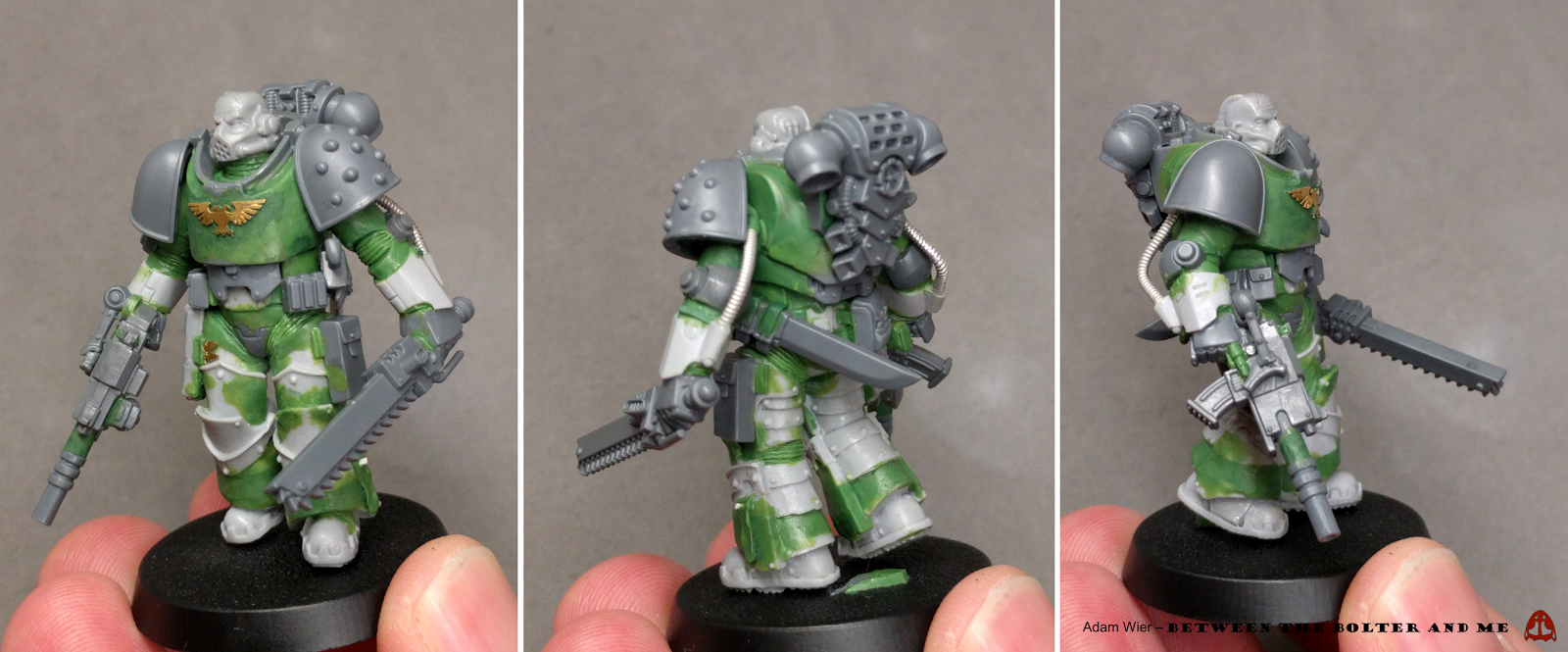 And they shall know no fear. Making true-scale marines has been very popular as of late, much of it stemming from all the excellent exa...