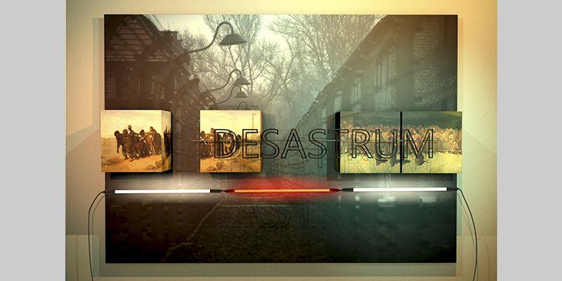 DESASTRUM. YENY CASANUEVA Y ALEJANDRO GONZALEZ. PROYECTO PROCESUAL ART