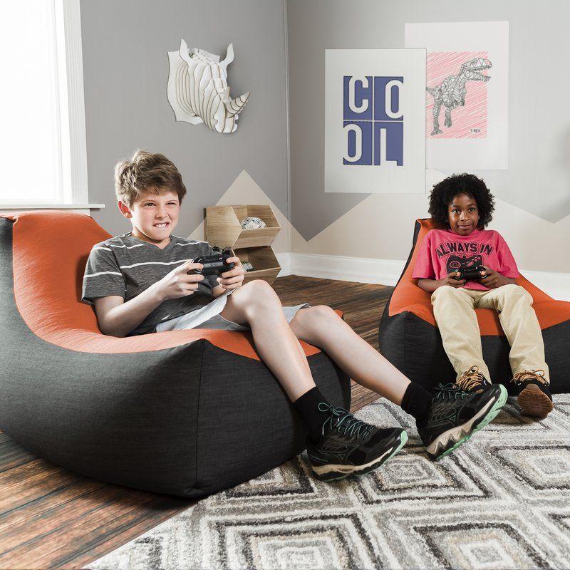 Bean Bag Floor Game Chair Bean Bag Gaming Chair Bean Bag Chair Kids Hangout Room