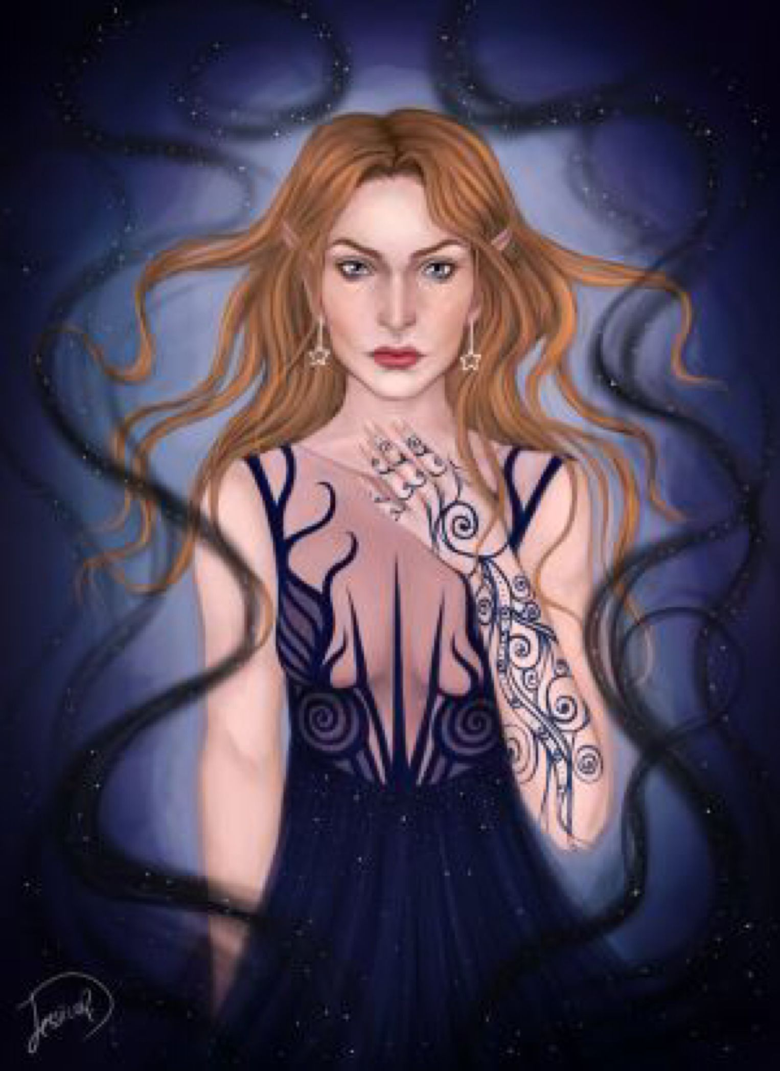 Feyre Archeron By Jessicarix On Deviantart Roses Book A Court