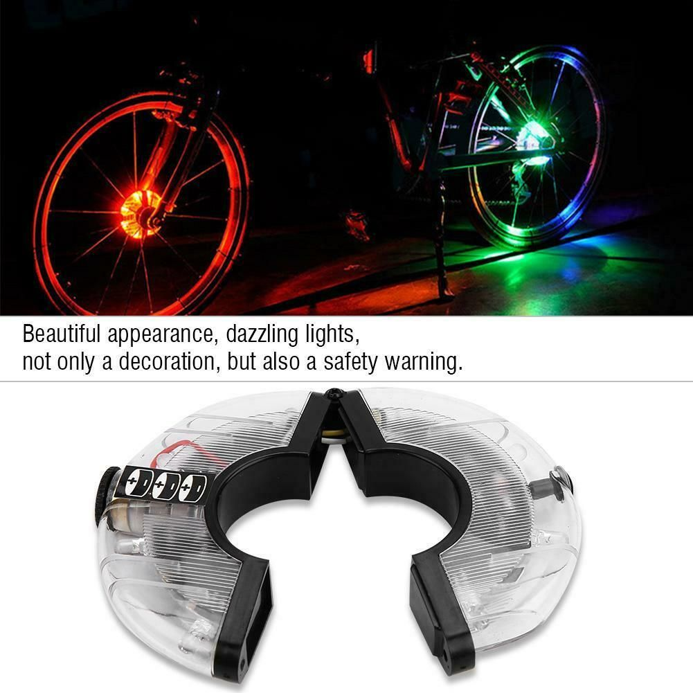 Bicycle Hub Light Bike Wheel Lamp Led Bicycle Decoration Light