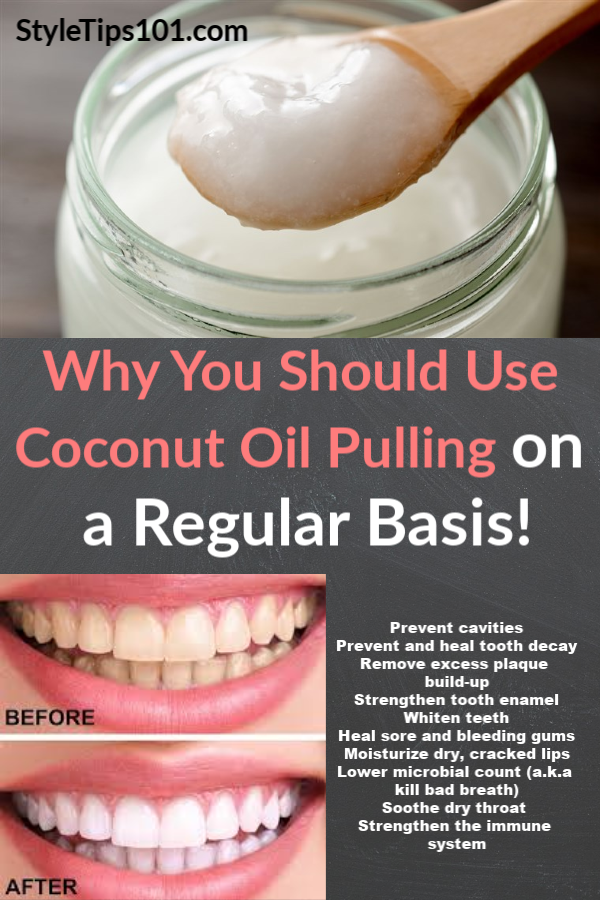 Verwonderlijk Coconut Oil Pulling for the Cleanest Mouth   Oil pulling, Coconut SU-13