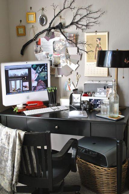 Creative workspace. Desk inspiration.