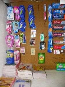 Pegboard To Hold Stockpile Items Like Razors Stockpile Peg Board Storage Room