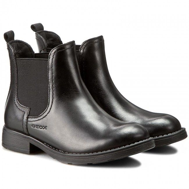 Trzewiki Geox J Sofia A J64d3a 043nh C9999 Czarny Chelsea Boots Boots Geox