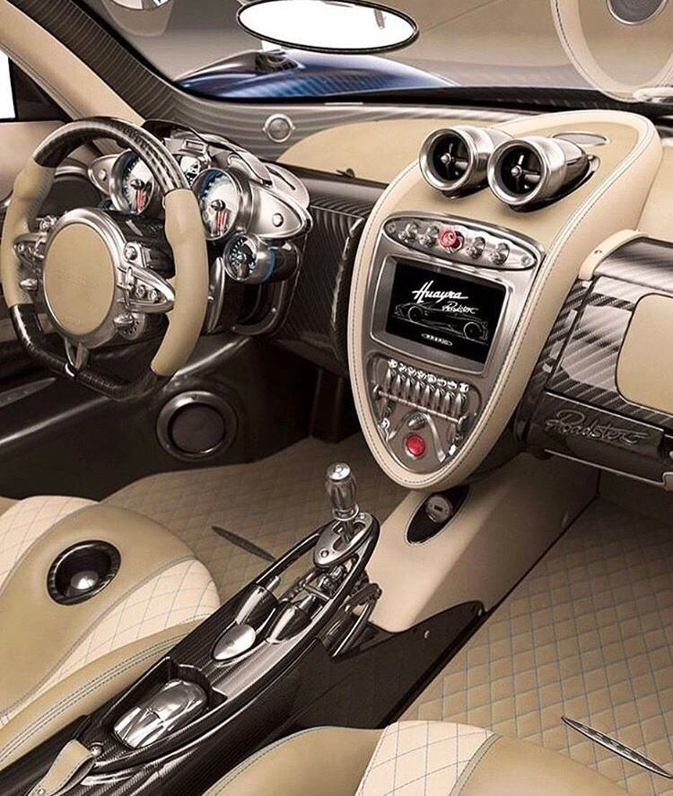 Pagani Huayra interior in tan  | Love those cars!! | Best