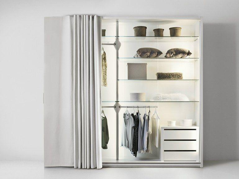 Fabric wardrobe ET VOILA\' TREE by Lago   design Daniele Lago ...