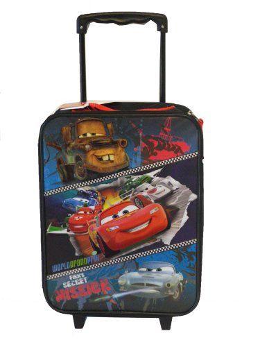 Boys Luggage On Wheels   Disney Pixar Cars Boys Large Pilot Case – Cars Rolling Luggage ...