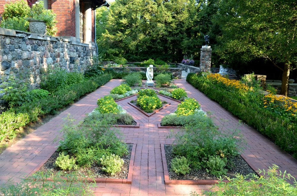 Formal Herb Gardens At Cranbrook House Gardens In 400 x 300