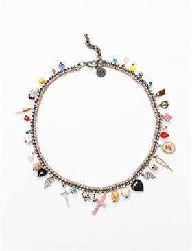 Venessa Arizaga Smells Like Teen Spirit Necklace - Multi