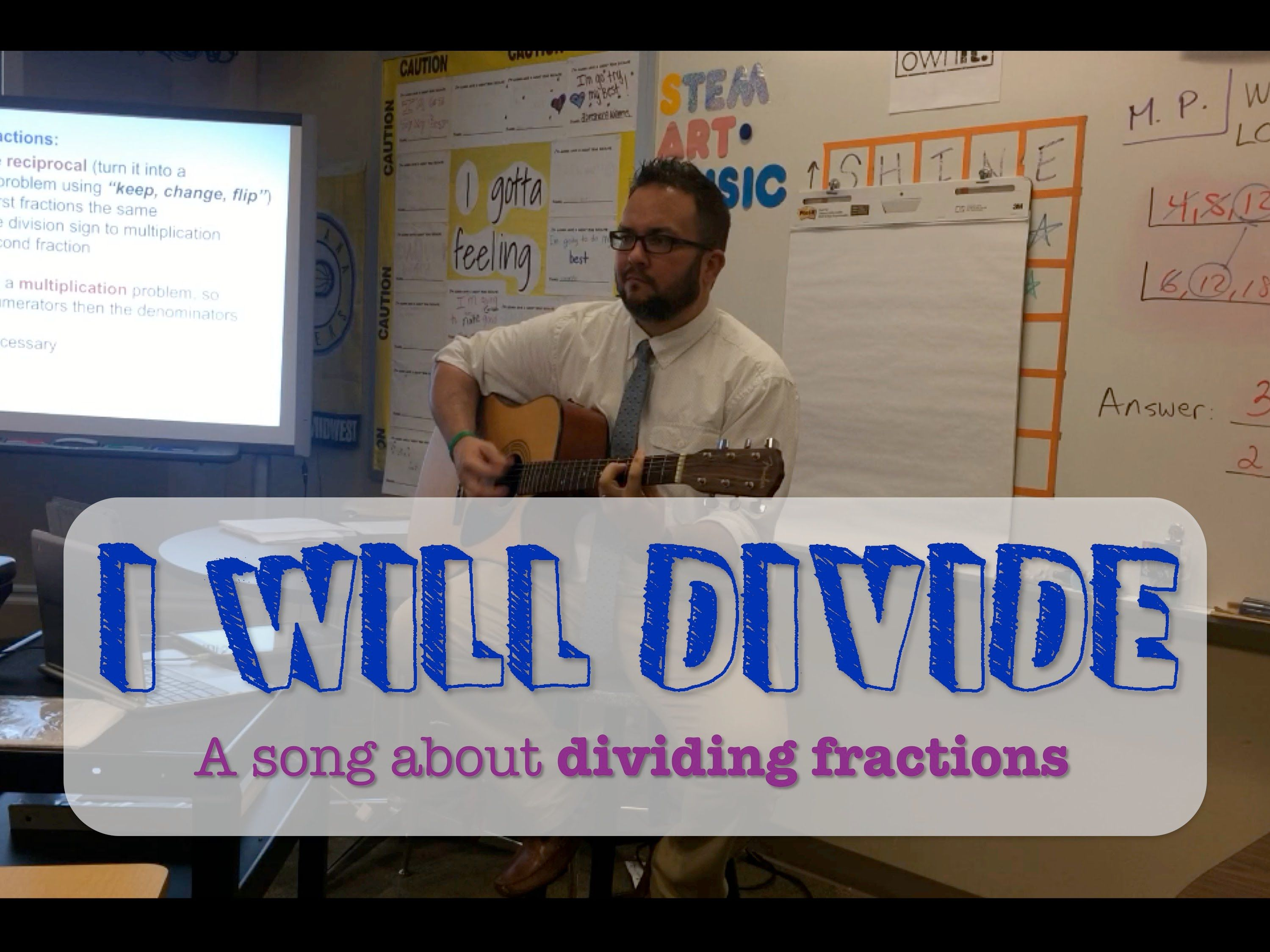 I Will Divide Fractions