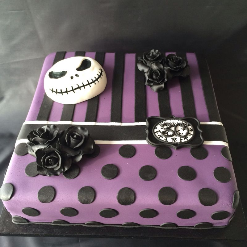 Nightmare before Christmas Birthday Cake I would love this to be