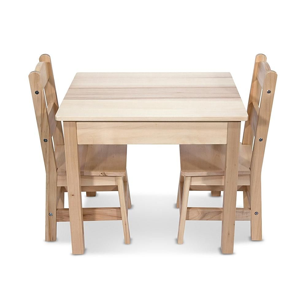Incredible Melissa Doug Wooden Table Chairs Set 8144910 Gmtry Best Dining Table And Chair Ideas Images Gmtryco