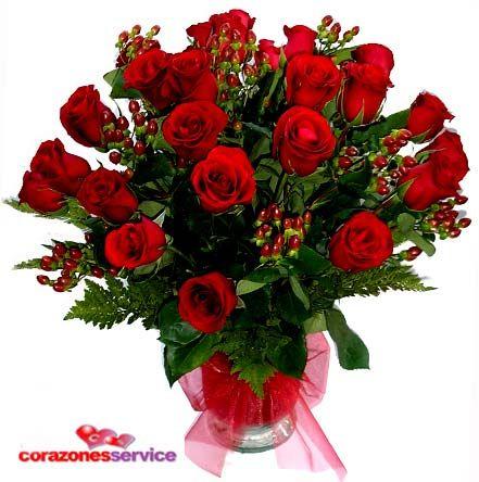 Envió De Flores A Domicilio Arreglos Florales Rosas Ramos Valentine Flower Arrangements Valentines Flowers Flower Arrangements