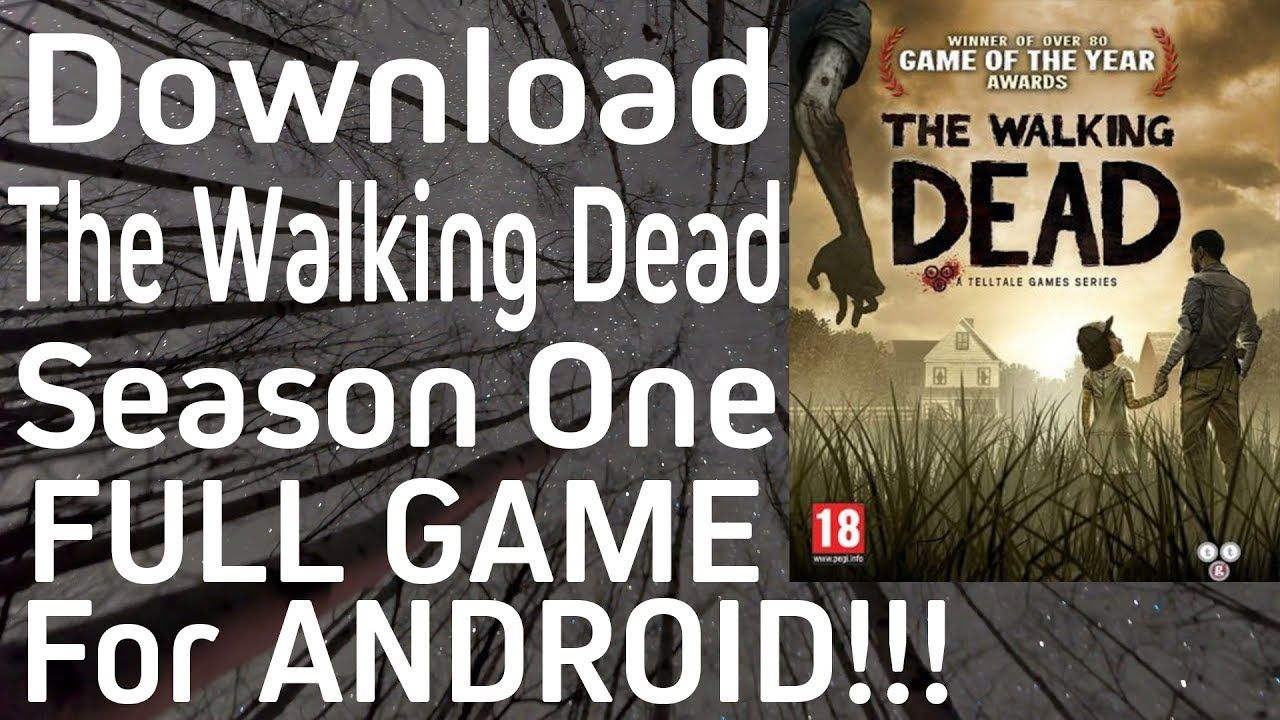 The Walking Dead Season One Android FULL Game Download Tutorial (100