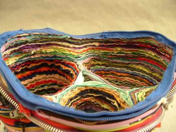 Recycled weaving - Elizabeth Morisette