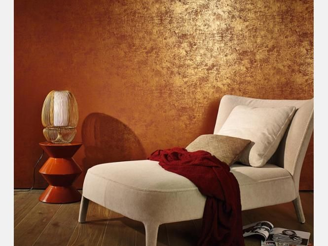 Baroque opulence is another trend Marburg is the copper-colored
