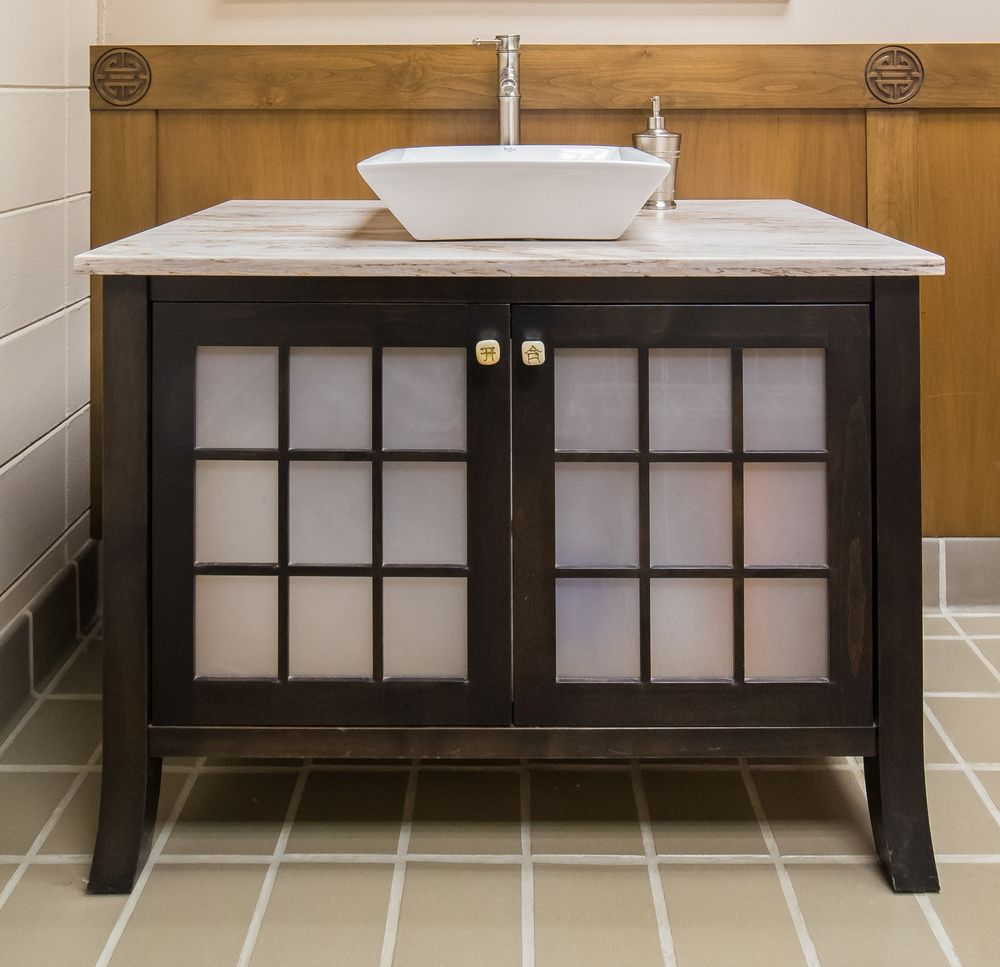 12 Remarkable Asian Bathroom Vanity Design