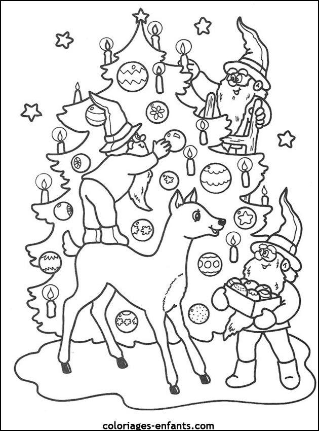 Broser coloriage christmas coloring pinterest - Jeux de coloriag ...
