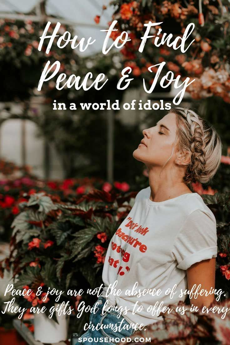 Defining Joy & Peace (With images) Military spouse
