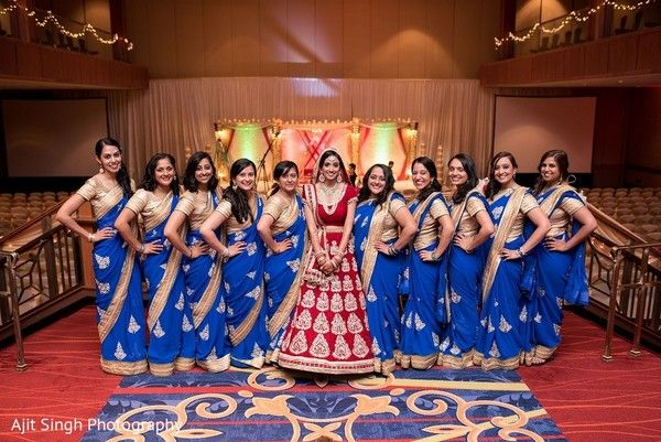 Bridal Party http://www.maharaniweddings.com/gallery/photo/58844