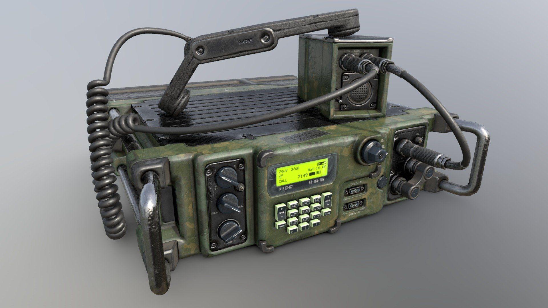 Military Radio By Curichenkow Radio Military Gear Cb Radios