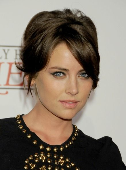 Jessica Stroup Short Up Do Hair Styles Short Hair Styles Jessica Stroup